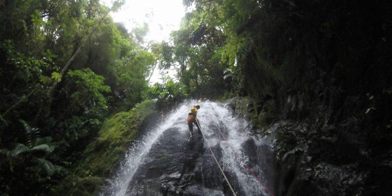 Canyoning avontuurlijk