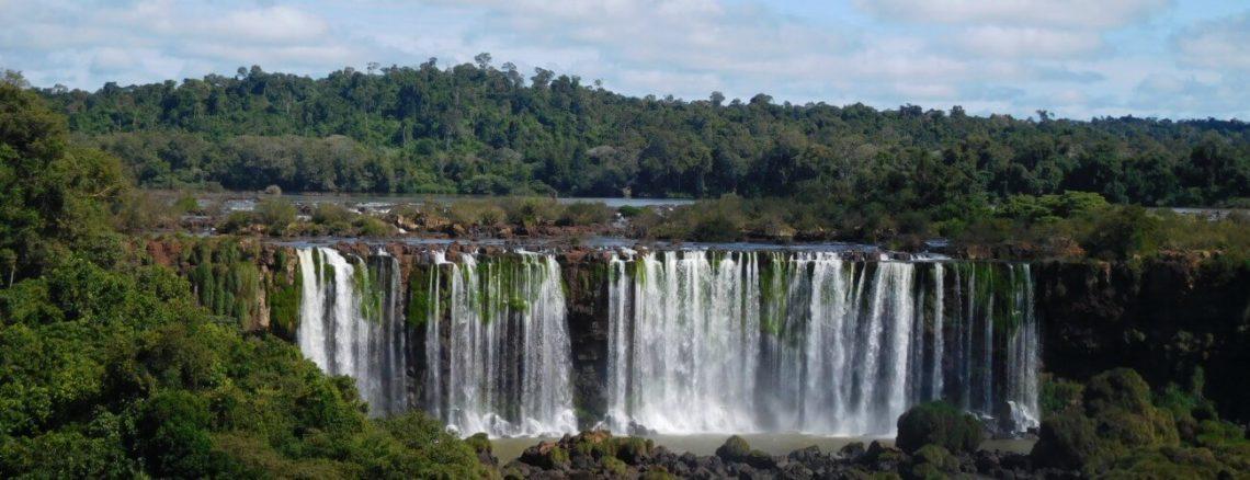 Watervallen Iguazu in Brazilië