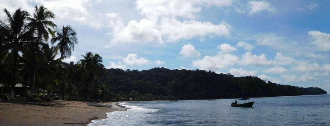 Pacifische kustlijn Colombia