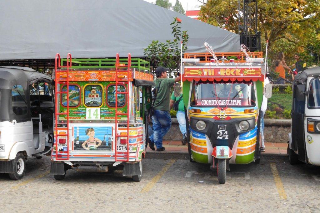 Kleurrijke TukTuk in Guatapé