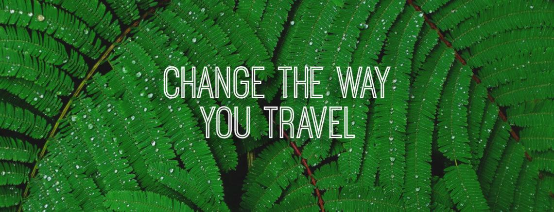 Verbeter jouw manier van reizen en reis duurzamer